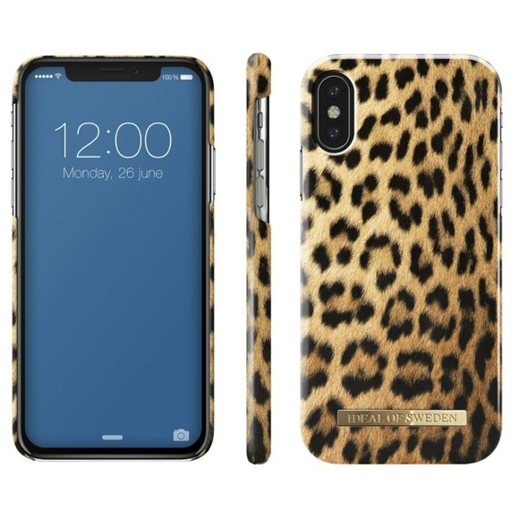 outlet store c8668 aaa96 Ideal of Sweden Wild Leopard Case for iPhone X 10 Boutique